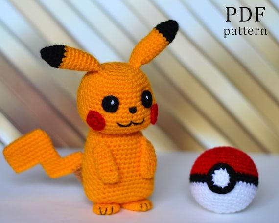 Amigurumi Pattern: Pokémon Pikachu - Tarturumies | 456x570