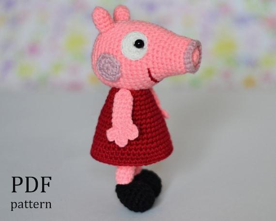 Amigurumi for Beginners Peppa Pig Crochet Amigurumi – Top 10 Peppa ...   456x570