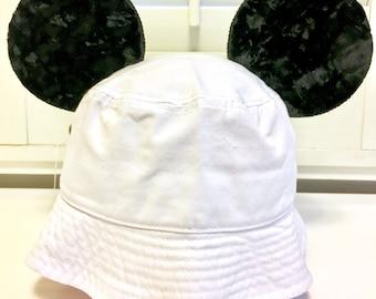 new style f153b 04b39 Mickey Bucket Hat, Bucket Hat, Mickey Hat, Hat