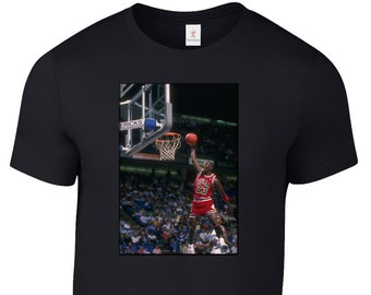 3762985ae974dd MICHAEL JORDAN Jumpman 23 T Shirt Jersey Chicago Bulls Tee Plus Sizes S-5XL  Tee 32.9