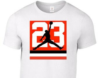 e42d7168b522 MICHAEL JORDAN Jumpman 23 T Shirt Jersey Chicago Bulls Tee Plus Sizes S-5XL  Tee 32.7