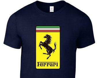 6e592e09d FERRARI T Shirt F1 Motorsport Supercars Tee Plus Sizes S-5XL M1.2
