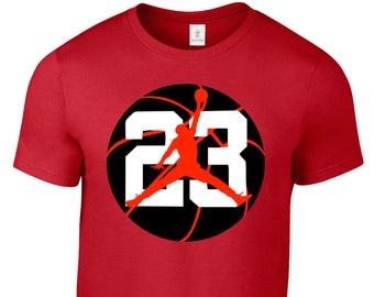 d703ef58830f MICHAEL JORDAN Jumpman 23 T Shirt Jersey Chicago Bulls Tee Plus Sizes S-5XL  Tee 32.4