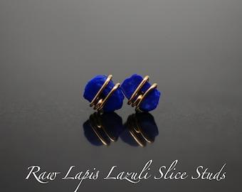 Earring Lapis lazuli earring  Stud earring  Gemstone Earrings  Fashion Jewelry  Beautiful gift  Boho jewelry  Sale  Gift for Her