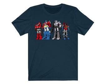 d22238ea07ea Transformers - Autobots + Decepticons - Unisex, Women's Fitted, Children's T -shirt & Baby Onesie - Customisable