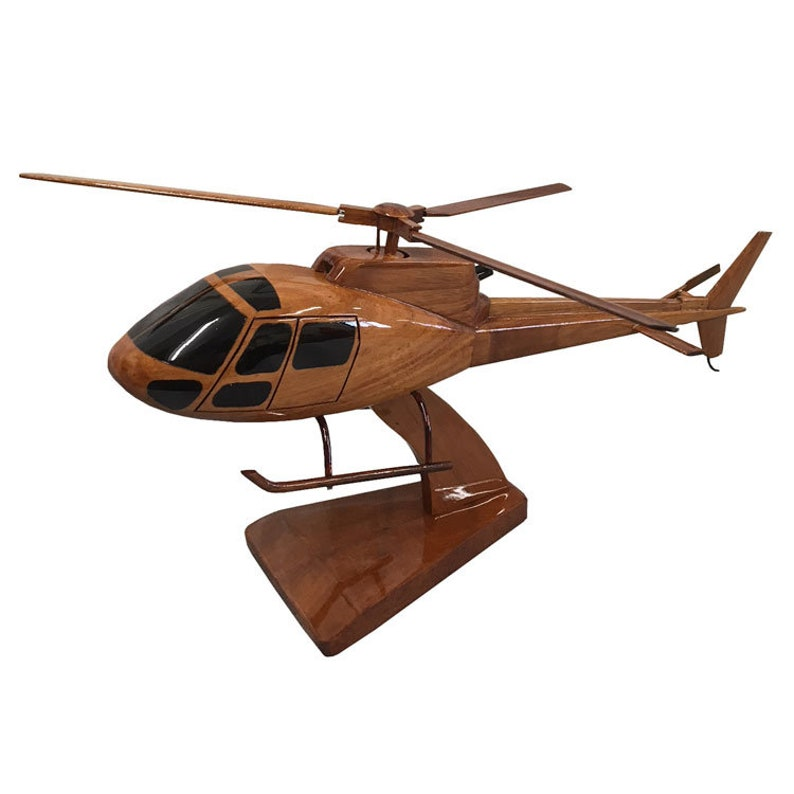 ddd7e3fd Eurocopter AS350 Squirrel Utility Helicopter Wooden   Etsy