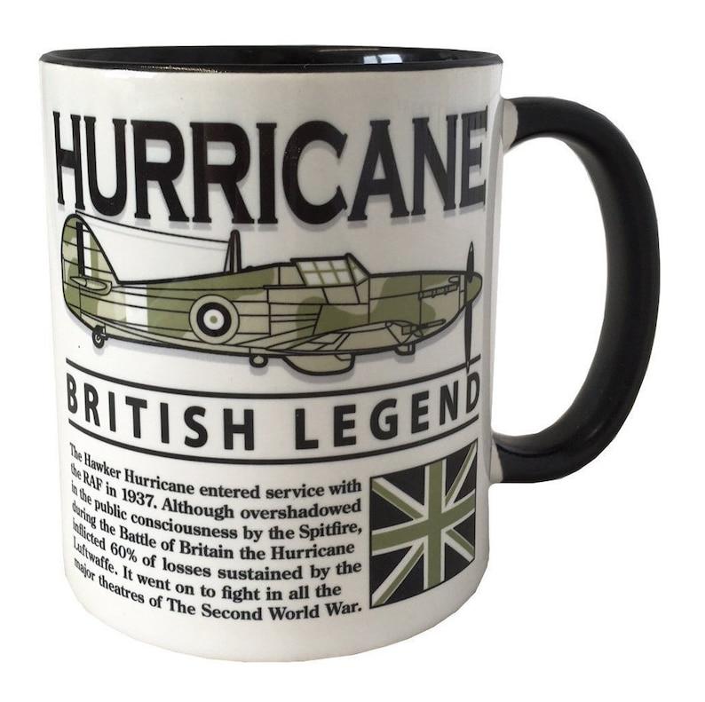 HAWKER HURRICANE WW2 Fighter Aircraft Mug.  99e780359c24
