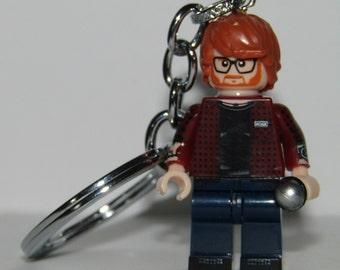 Ed Sheeran Keychain & Lovely Present Box -  Gift - singer