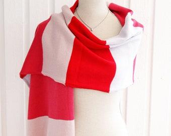 SOCKER - Big Knit Premium Merino Wool Stole Wrap Scarf