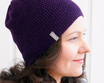 SNYGG - Soft And Light Shetland Lambswool Knit Hat