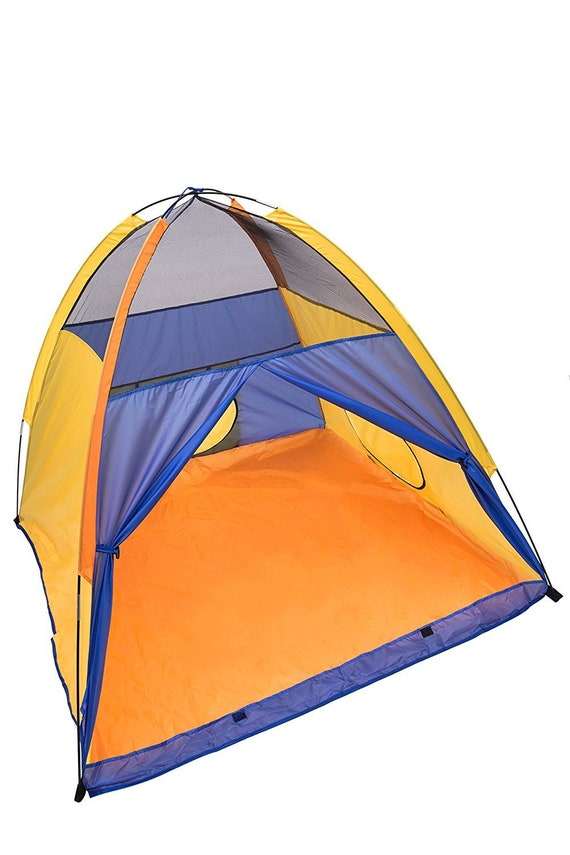 on sale ae42d 663ca Play Kreative Kids pop up Camping Tent - Bright Colorful Play Tent for  indoor Ch