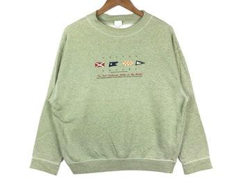 77b79f0160f Benetton sweatshirt crewneck big logo spellout jumper pullover gift clothing  jumper pullover gift
