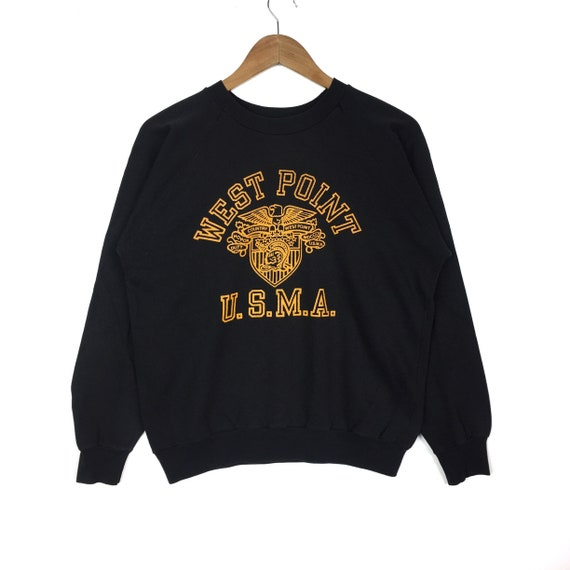Nudge Nudge Printing United States Military Academy Army West Point Athletic Shield Logo Hoodie Sweatshirt