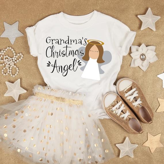 Christmas Angel Svg Grandma S Christmas Angel Cut File Etsy