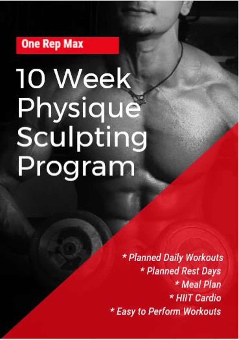 10 Week Physique Sculpting Program for Men & Women image 0