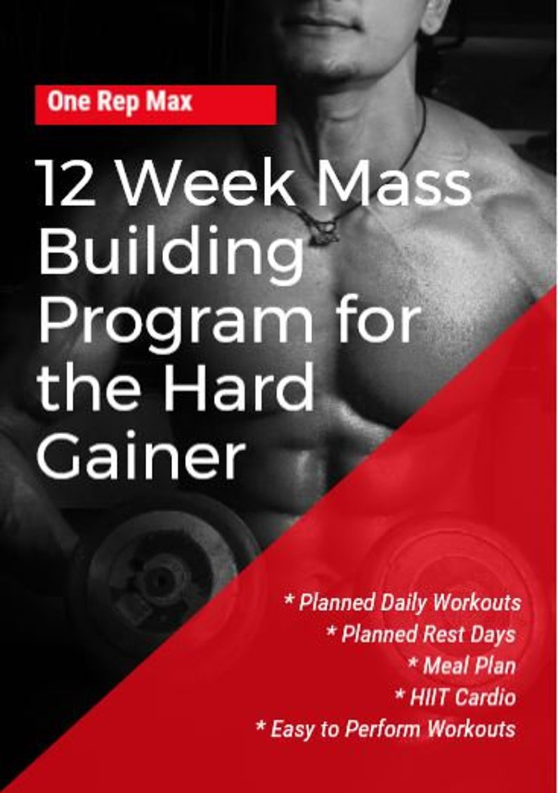 12 Week Guided Gym Workout Routine  For Men & Women image 0