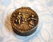 Antique Silver Snuff Box, made by August Dingeldein Son, Hanau, Germany