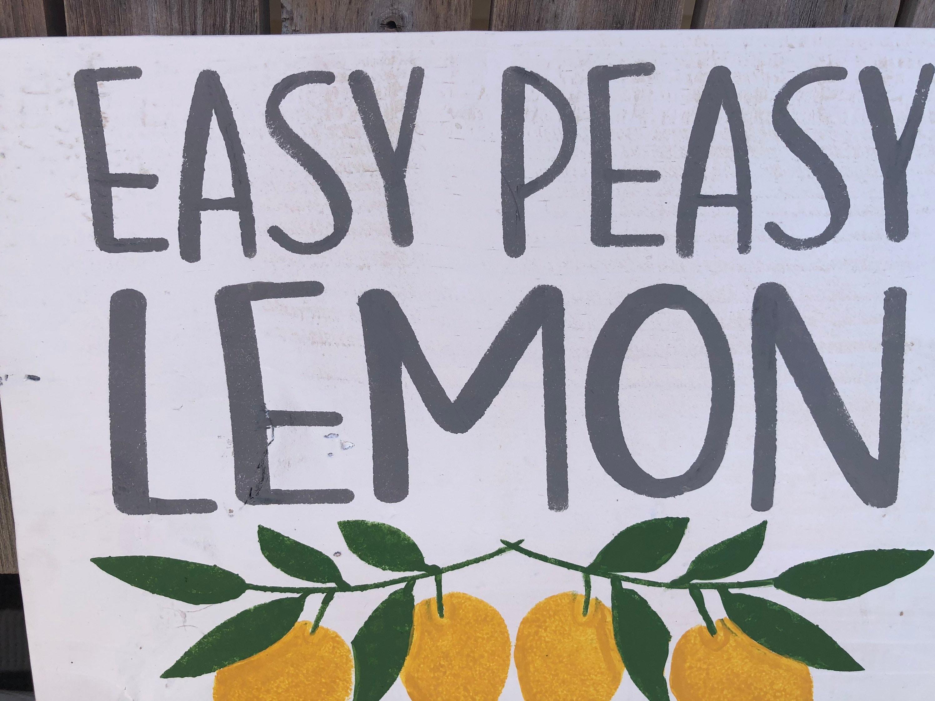 Easy Piece Lemon Squeezy