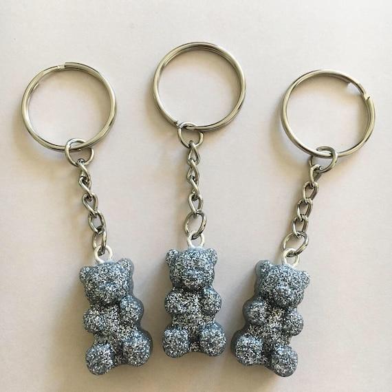 af166c72a6e Silver Gummy Bear Keychain Clasp