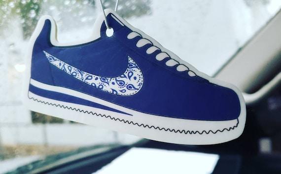 Nike Cortez Blue Bandana Car Air