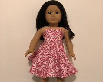 76df6e5402cb6 Christmas doll dress | Etsy