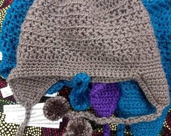 217b17a2e7b0ac Men's ear flap hat | Etsy