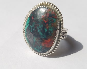 Sonora Sunrise Ring handcrafted Sterling Silver Jewelry