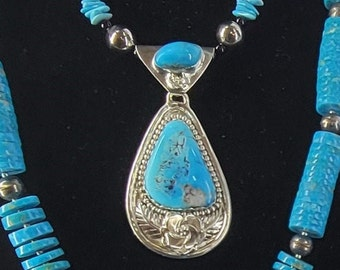 Beaded Turquoise