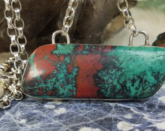 Sonora Sunrise Pendant Sterling Silver Handcrafted Jewelry