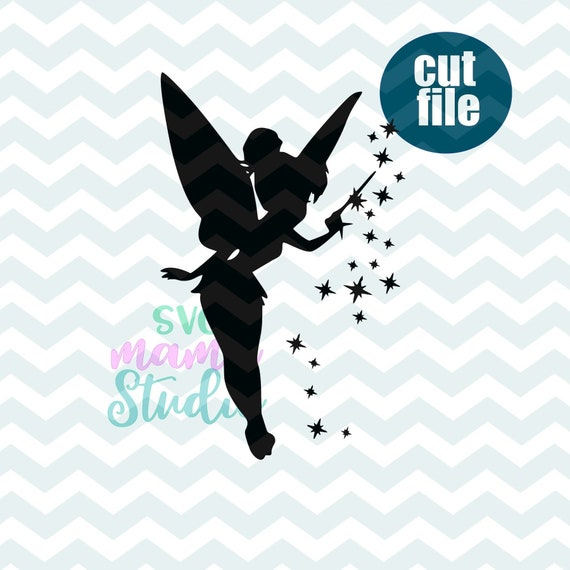 Tinkerbell Svg File For Cricut Peter Pan Svg Disney Svg Etsy
