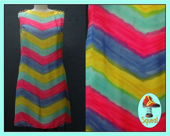 Vintage 1960s Suzy Perette Dress