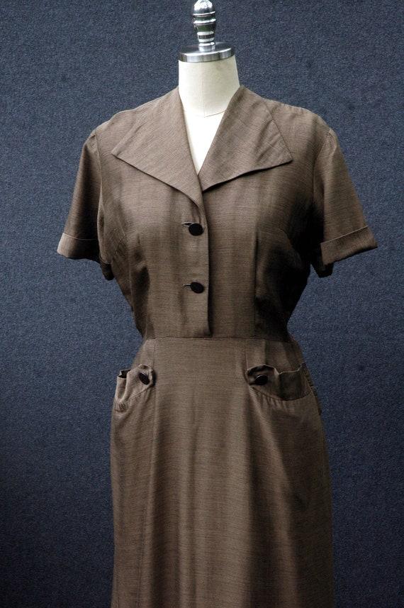 Vintage 1950s Day Dress - image 6