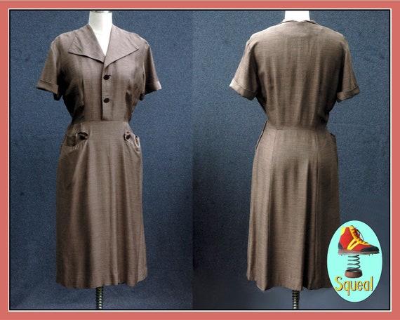 Vintage 1950s Day Dress - image 1