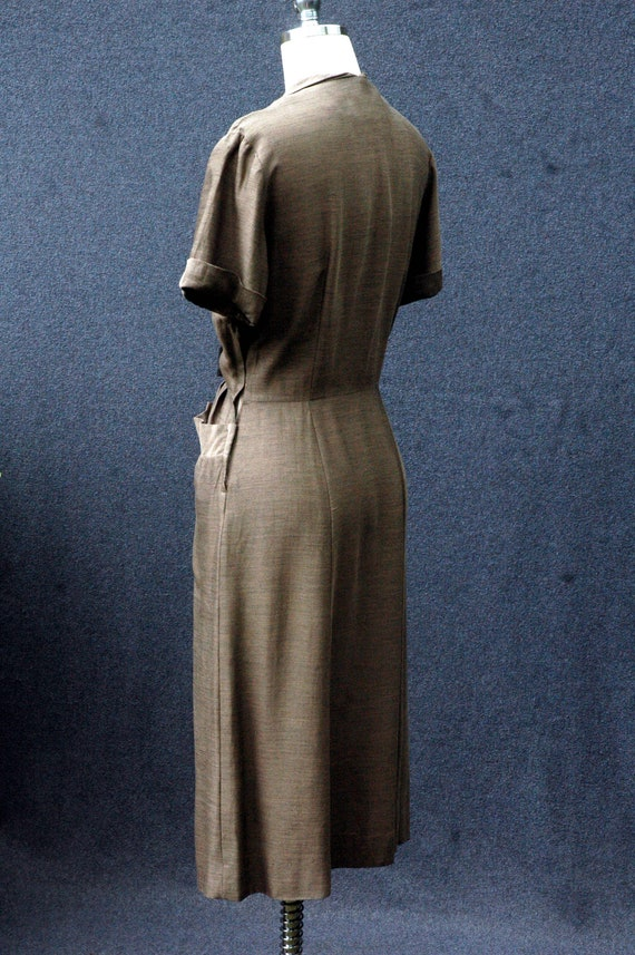 Vintage 1950s Day Dress - image 5