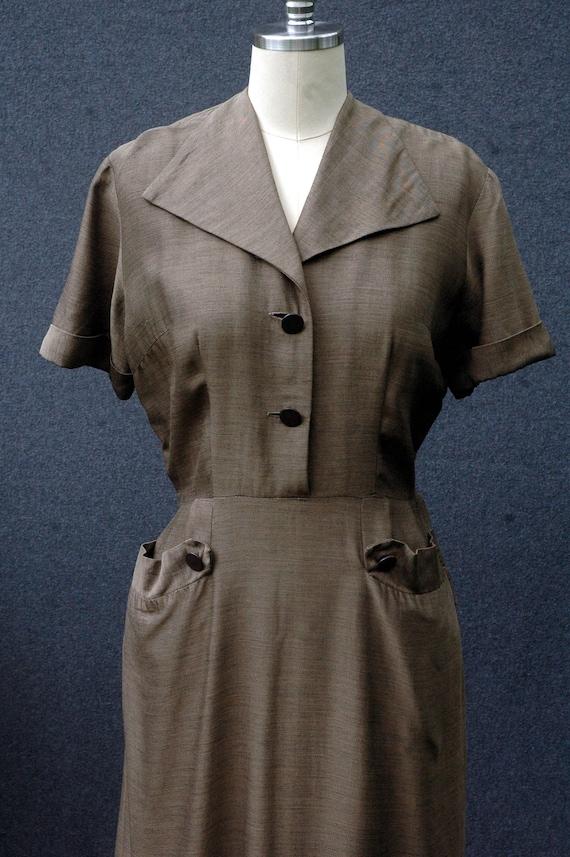 Vintage 1950s Day Dress - image 7