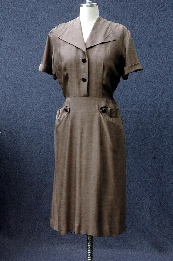 Vintage 1950s Day Dress - image 3