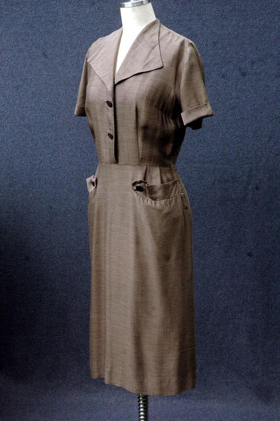 Vintage 1950s Day Dress - image 2