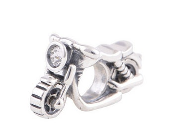 92c3a85f0 Motorcycle sports charms for man, fits for European bracelets , 100% 925  Sterling Silver Charm, Fits Authentic Pandora Charm, bracelet Charm