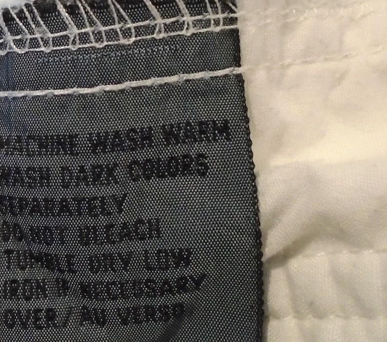 Vintage 80s High Waist White Trouser Pants Size 4 Cotton