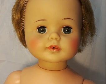 Box INSERT 1960/'s  Very RARE Ideal TINY KISSY doll CARD Reproduction