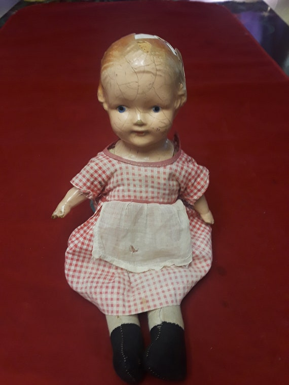 """Patsy Vintage Antique 1930s Doll Pattern ~ 13/"""" 14/"""" Shirley Temple Composition"""