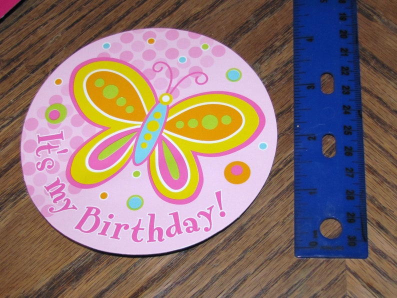 Butterflies and Flowers Birthday Guest of Honor Kit  # 999752