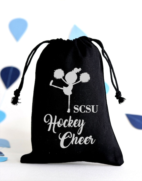 Be Aggressive Large Organic Cotton Tote bag Cheerleading Handbag Cheerleader Shopping Bag Senior Cheer Night Gift