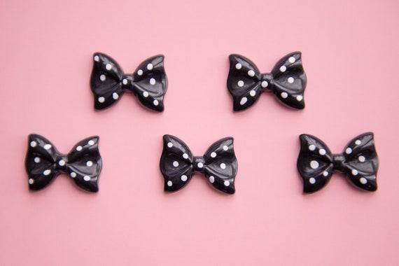 5pcs Cute Glitter Fish Resin Flatback Cabochons Embellishment Decoden Craft