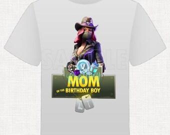 Fort game Shirt Mom of the Birthday Boy