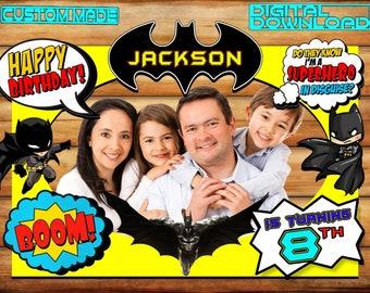 Batman Photo Booth Etsy