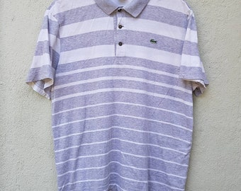 3b9845bf1612c Lacoste stripe shirt | Etsy
