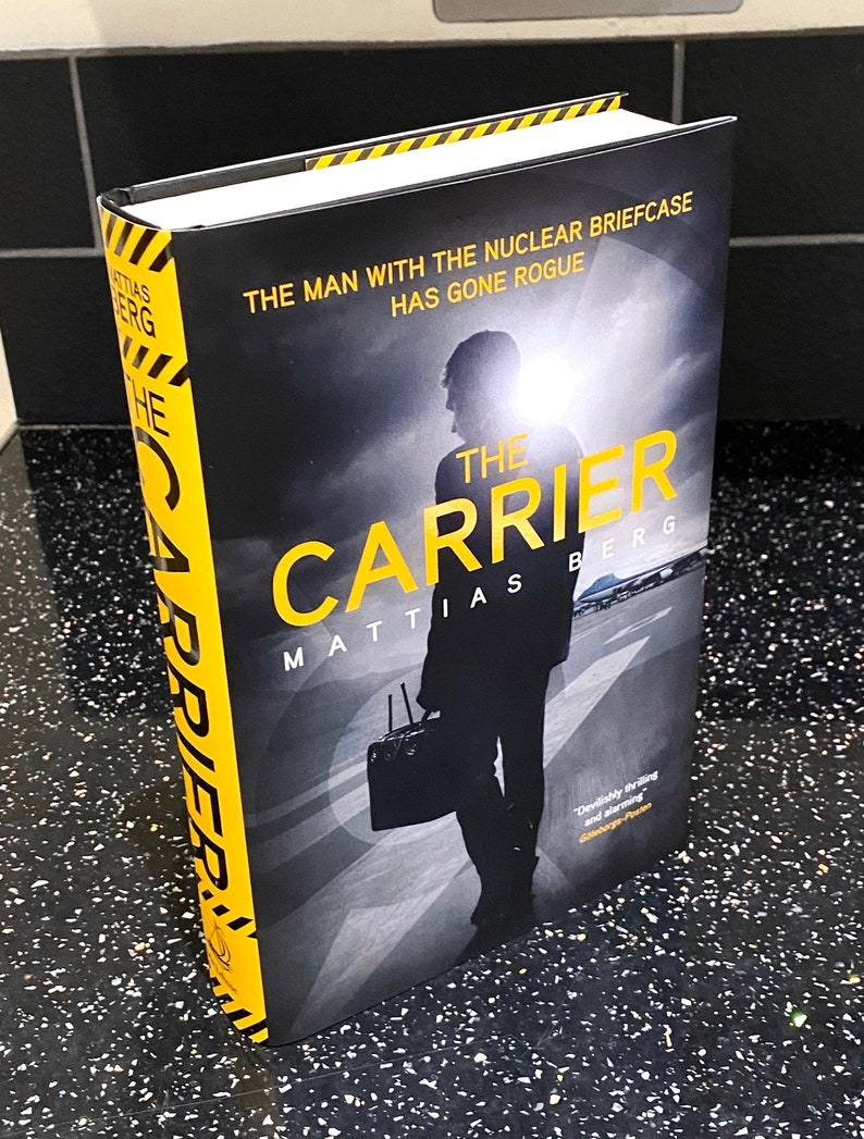 The Carrier by Mattias Berg book From a Signed and numbered image 0