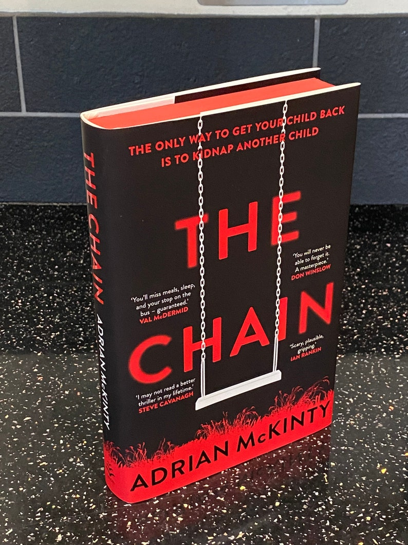 The Chain by Adrian McKinty book From a Signed and numbered image 0