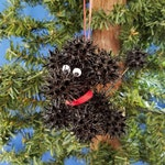 Sweetie Poodle Handmade Sweet Gum Ball Christmas Ornament